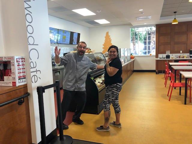The Redwood @Avenidas first floor cafe