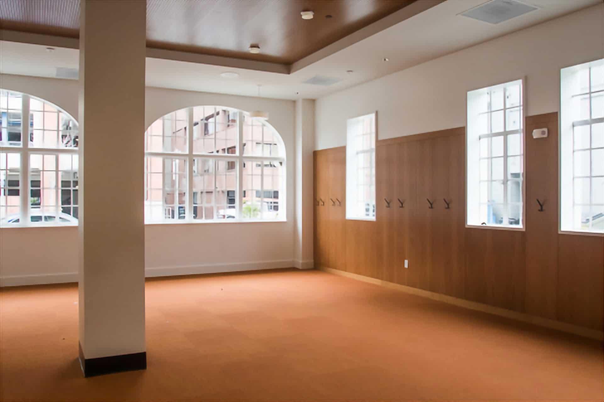 lounge on first floor of Avenidas @450 Bryant
