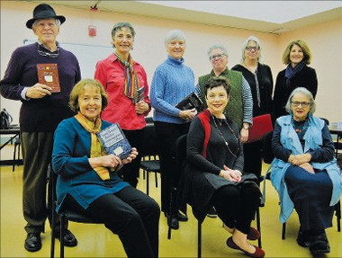The Wise Owl Players includes, front row, from left: Jane Stefani, Enid Davis and Sandra O'Neal. Back: Bob Johnson, Graceann Johnson, Katherine Chappelear, Ellin Klor, Michelle Diederich and Mary-Jo Lomax. Not pictured: Linda White.