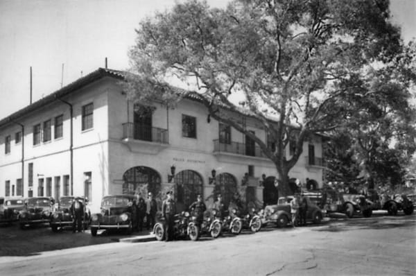 450 Bryant Street in the 1920s