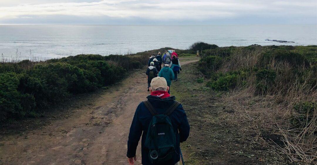 Avenidas Hikers at Pillar Point on December 5th, 2019