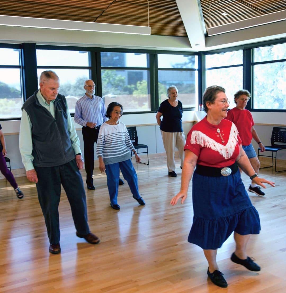 Dance class at Avenidas