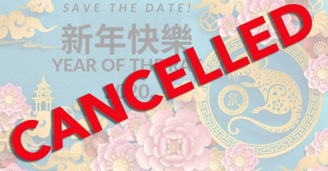 Jan 30th Lunar New Year Celebration at Cubberley cancelled