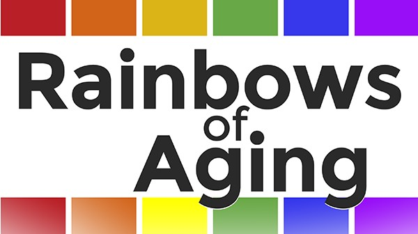 Rainbows of Aging logo