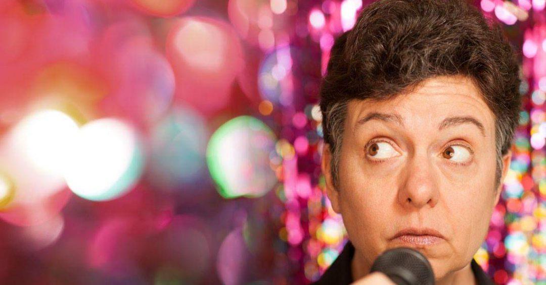 Comedian Sharon Birzer