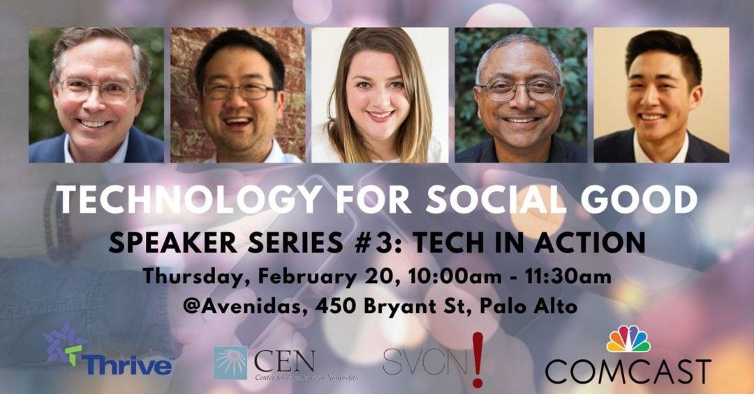 Technology for Social Good speaker lineup