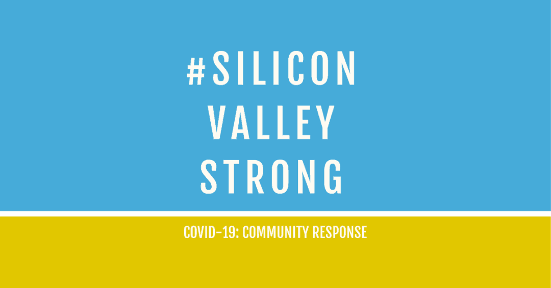 Banner for the #siliconvalleystrong initiative