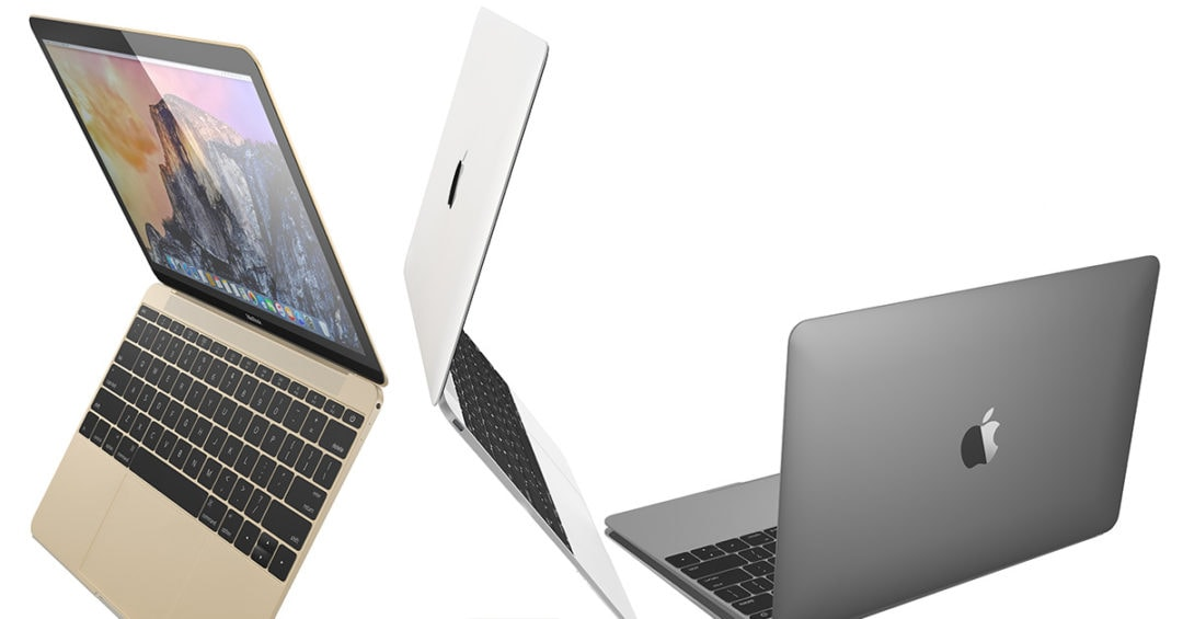 3 macbook air laptops