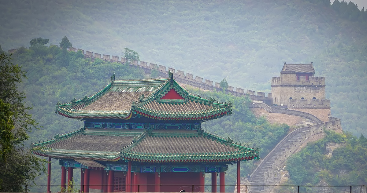 stock photo of the Great Wall of China