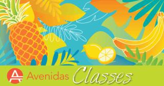 Illustration from the Summer 2020 Avenidas class insert