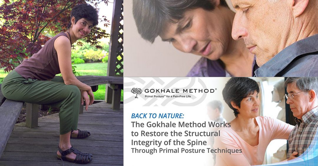 Esther Gokhale demonstrating the Gokhale Method