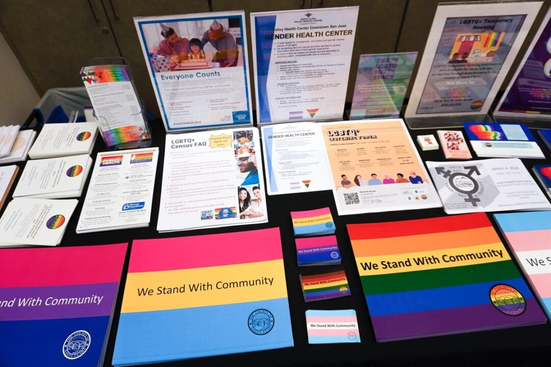 LGBTQ resources from the County of Santa Clara Office of LGBTQ Affairs