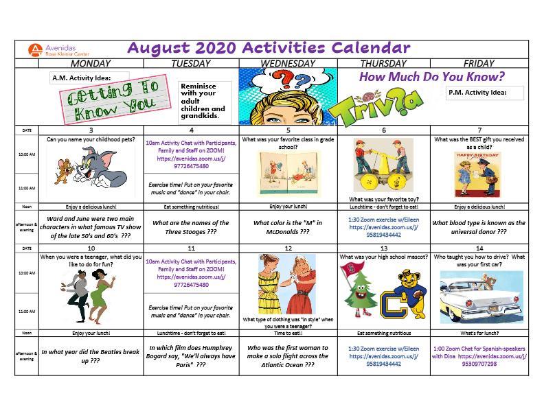 2020-08-RKC-Activities