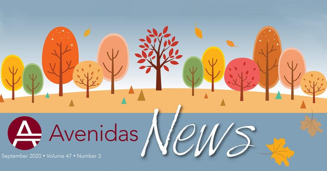 header image for Avenidas News Fall 2020