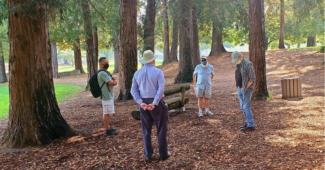 Avenidas Rainbow Collective Friendly Men's Walking Group in Cuesta Park